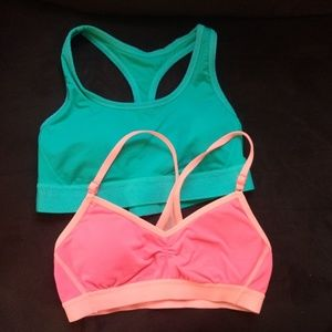 Lot of 2 Aerie Sports Bras size S
